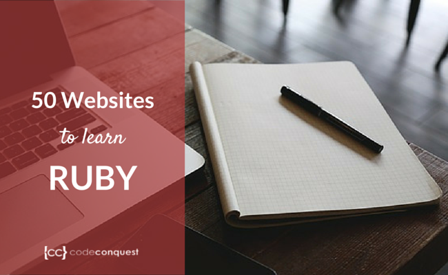 50 places to learn Ruby online