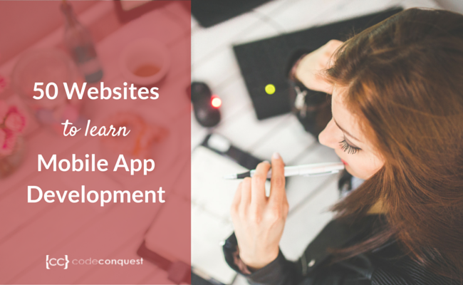 50 websites to learn mobile development