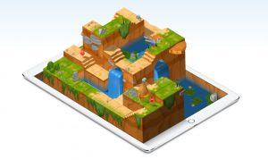 Swift Playgrounds lesson on iPad